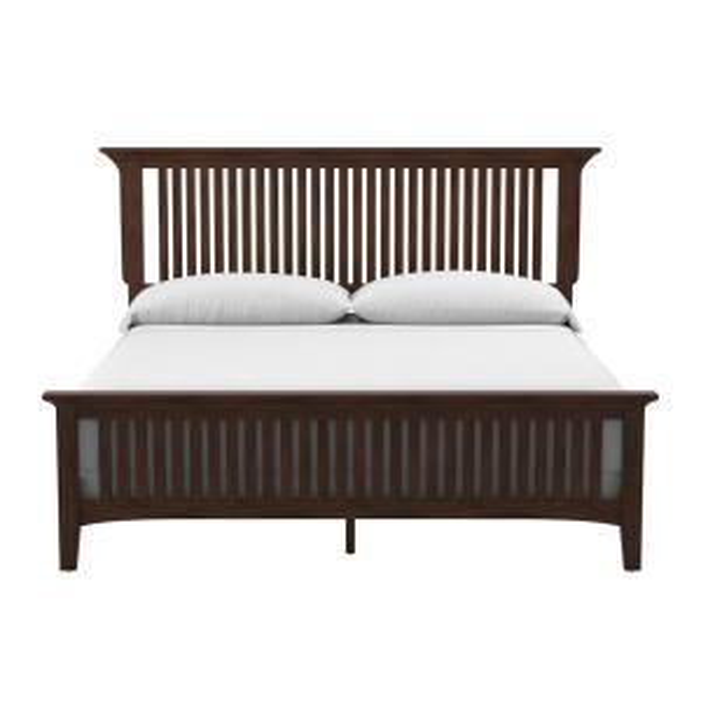 Modern Mission Vintage Oak King Bed (Set of 3/CTN)