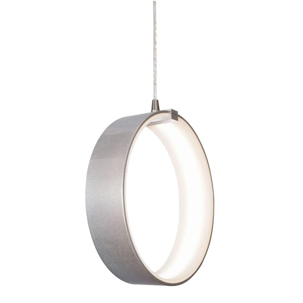Radionic Hi Tech Orly 1-Light Silver LED Pendant