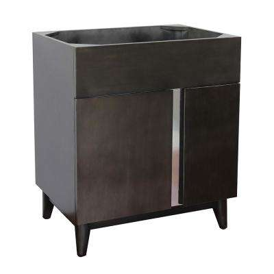 Mia 30 in. W x 21.5 in. D Bath Vanity Cabinet Only in Brown