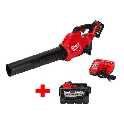 M18 FUEL 120 MPH 450 CFM 18-Volt Lithium-Ion Brushless Cordless Handheld Blower Kit with Free High Demand 9.0 Ah Battery