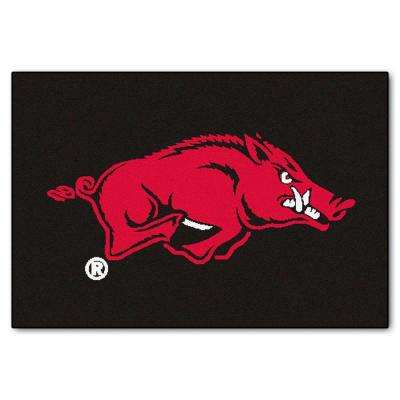 University of Arkansas 19 in. x 30 in. Accent Rug