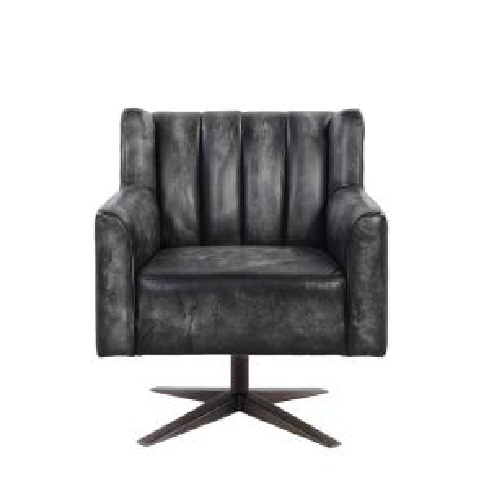 Superb Acme Furniture Brancaster Vintage Black Top Grain Leather Gamerscity Chair Design For Home Gamerscityorg