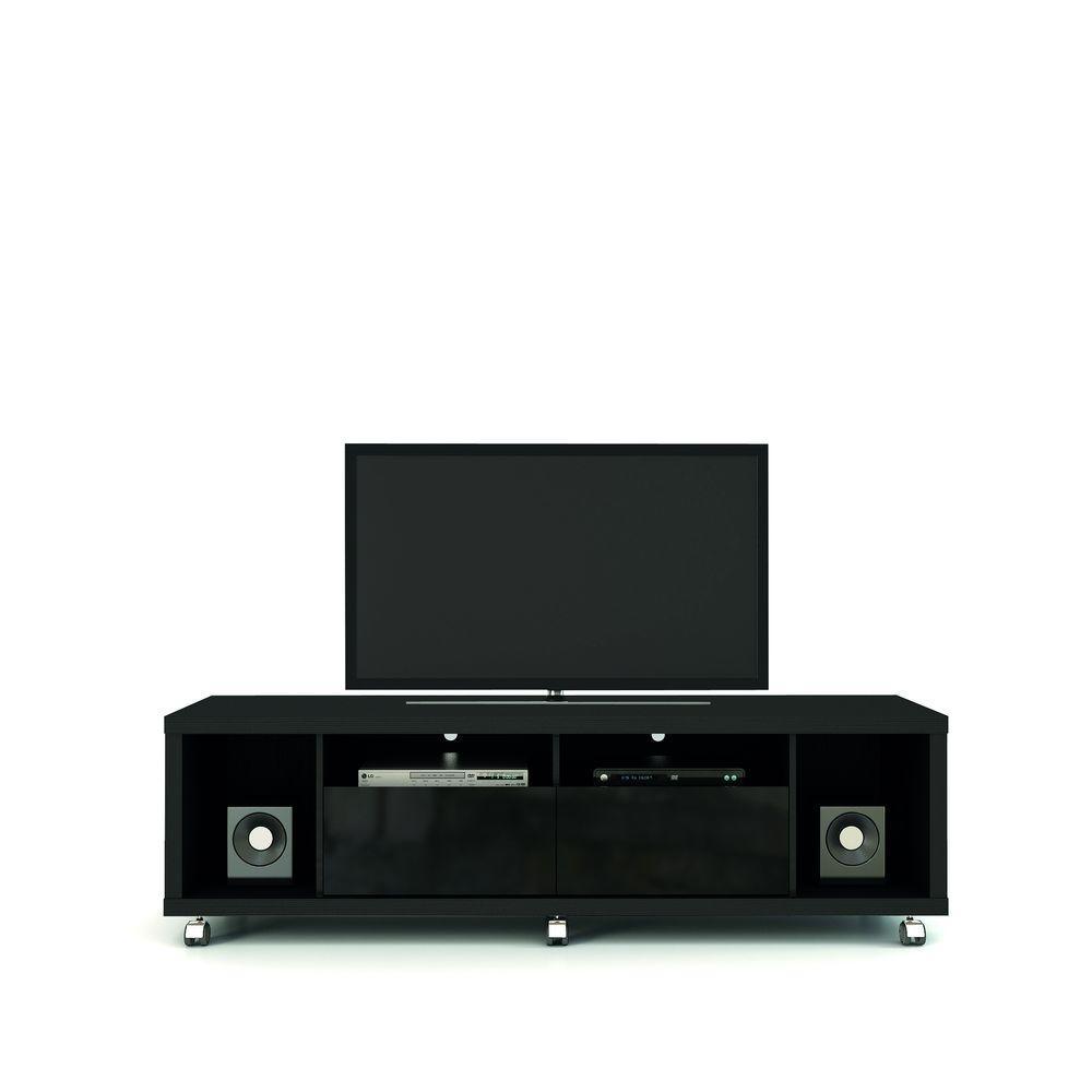 Cabrini 1.8 Black TV Stand