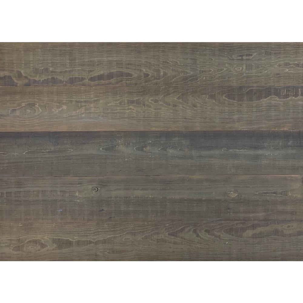 Easy Planking Thermo-treated 1/4 in. x 5 in. x 4 ft. Brown Barn Wood Wall Planks (10 Sq. Ft. per 6 Pack)
