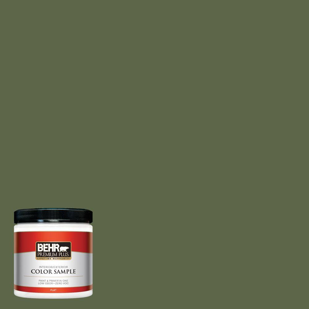 8 oz. #410F-7 Fiddle Leaf Interior/Exterior Paint Sample