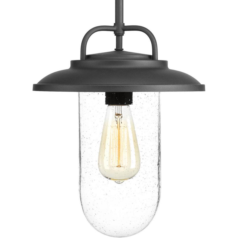 Beaufort Collection Black 1-Light Outdoor Hanging Lantern