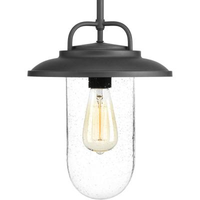 Beaufort Collection Black 1-Light Outdoor Hanging Lantern