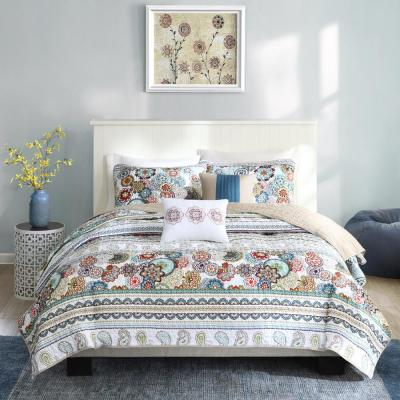 Lacie 5-Piece Multi Full/Queen Global Coverlet Set