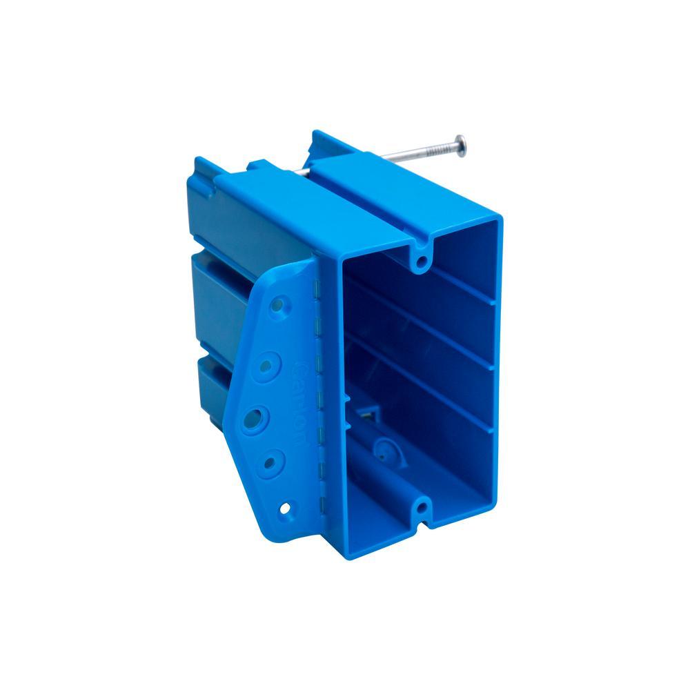 Carlon 1-Gang 24.5 cu. in. PVC New/Old Work Electrical Box
