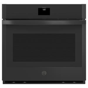 30 in. 5.0 cu. ft. Smart Single Electric Wall Oven Self-Cleaning with Steam in Black