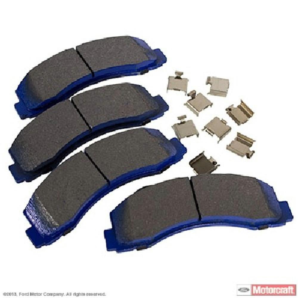 Superduty Integrally Molded Front,Rear MOTORCRAFT Disc Brake Pad Set-Pads