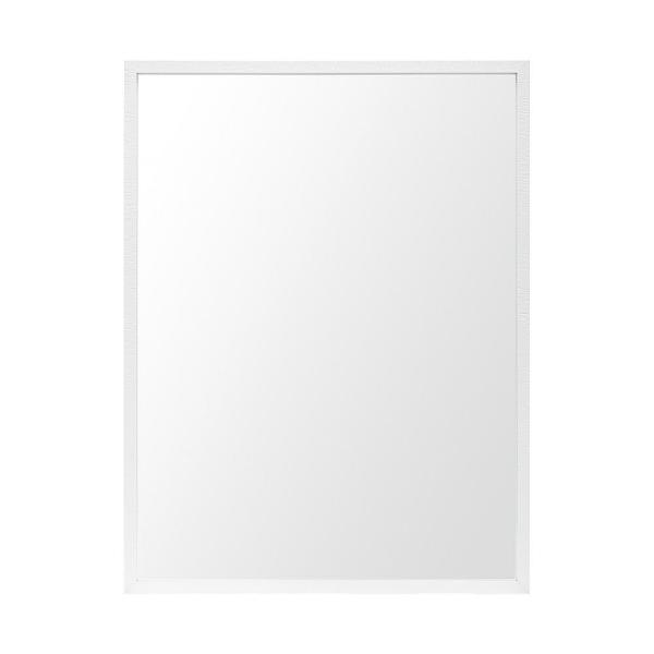 Large Rectangle White Modern Mirror (41.5 in. H x 31.5 in. W)