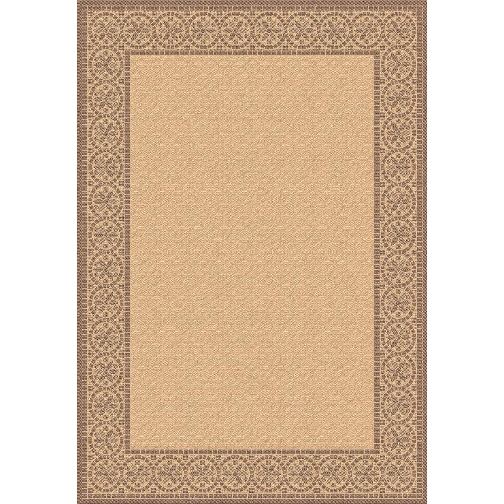 Indoor Outdoor Rugs Home Depot: Dynamic Rugs Piazza Natural/Brown 7 Ft. 10 In. X 10 Ft. 10