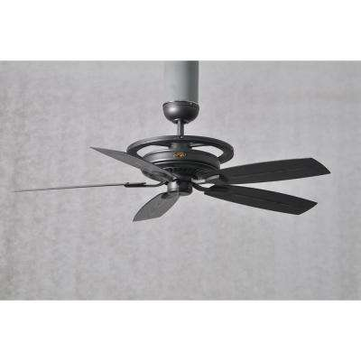 52 in. Misting Fan Outdoor Only Natural Iron Ceiling Fan