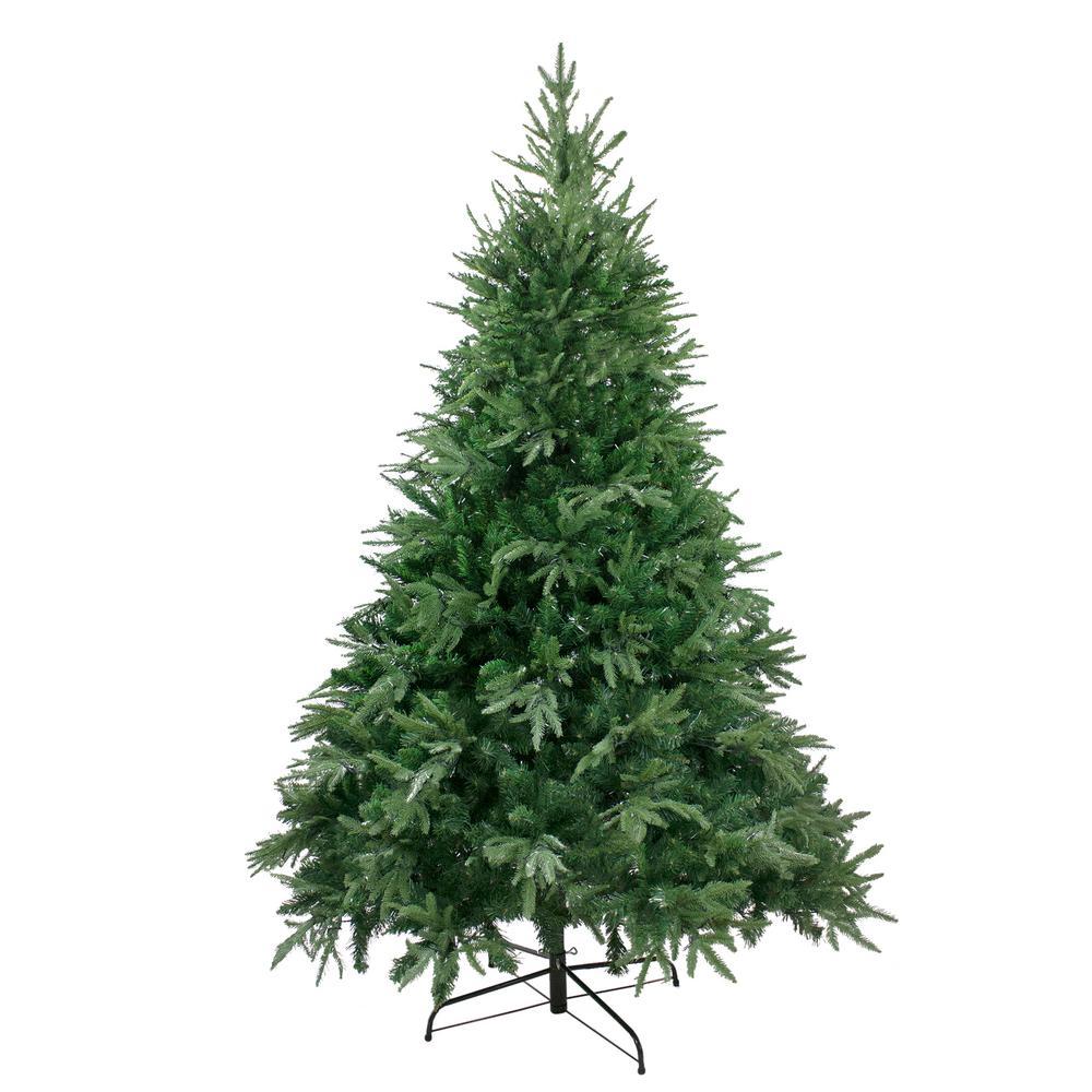 7.5 ft. Unlit Silverthorne Fir Artificial Christmas Tree