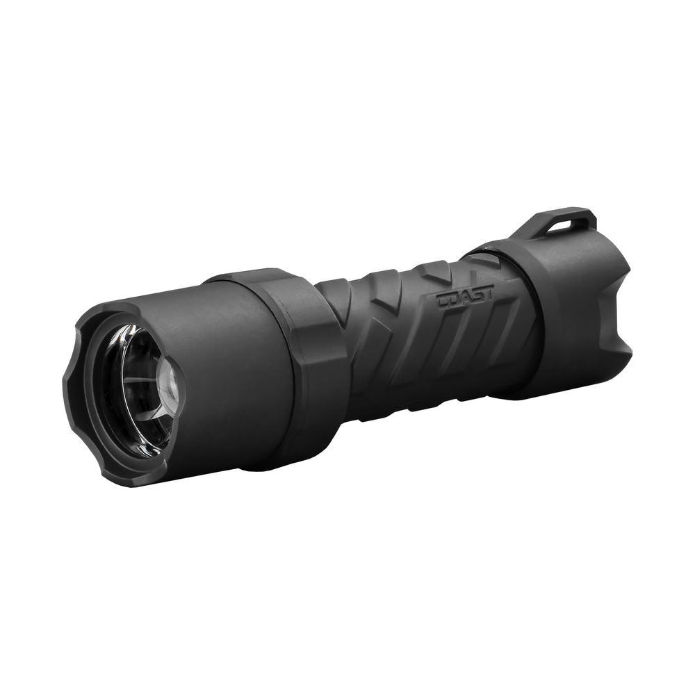 Polysteel 400 Heavy Duty 440 Lumen Waterproof LED Flashlight with Twist Focus