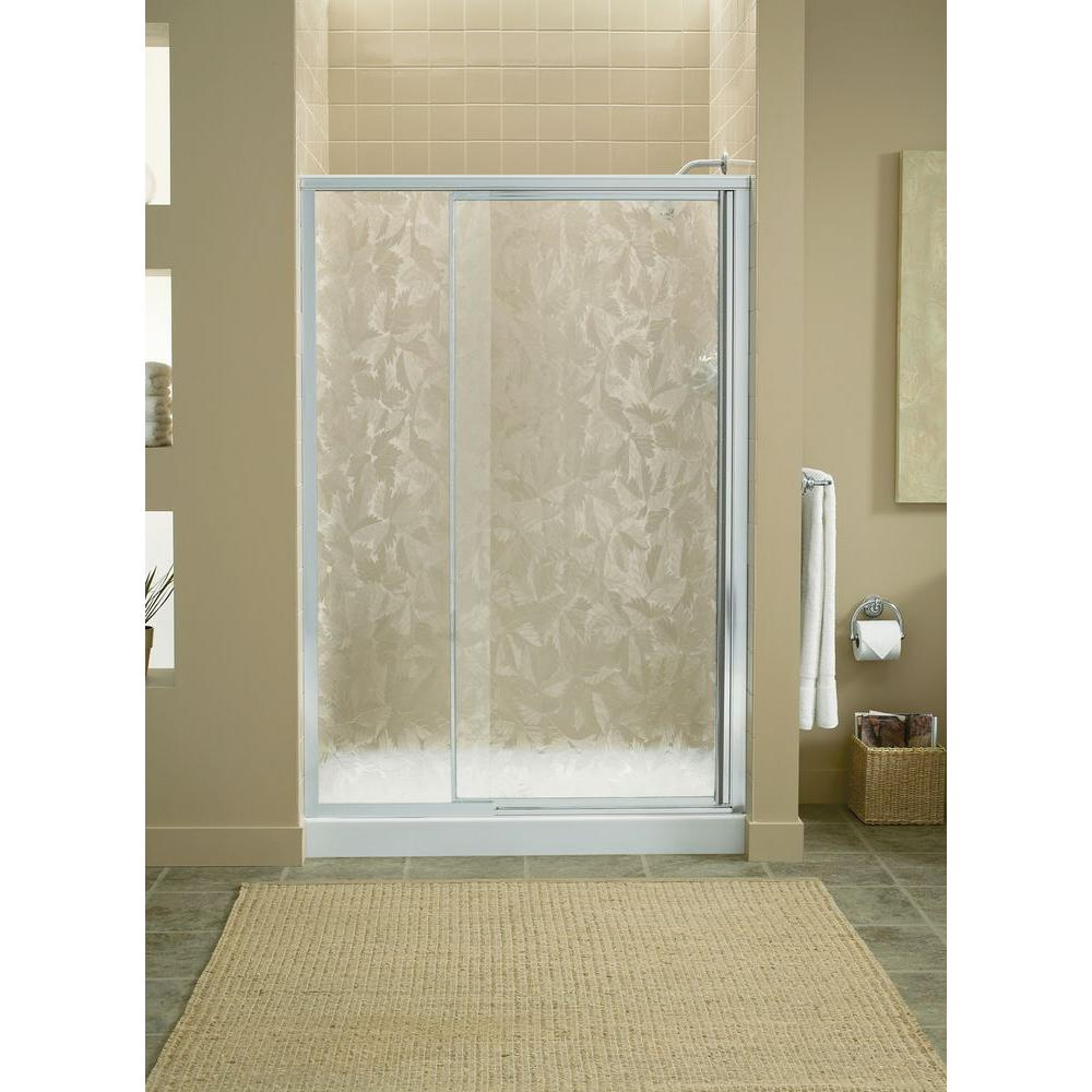 Vista II 48 in. x 65-1/2 in. Framed Pivot Shower Door