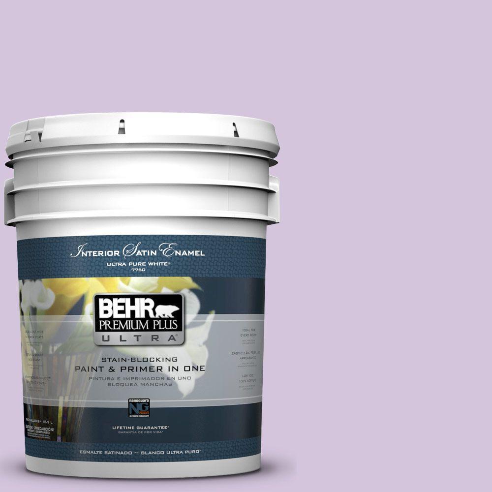 BEHR Premium Plus Ultra 5-gal. #M570-3 On Location Satin Enamel Interior Paint