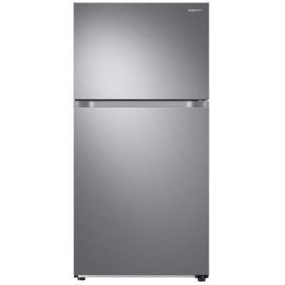21.1 cu. ft. Top Freezer Refrigerator with FlexZone Freezer in Stainless, Energy Star, Ice Maker