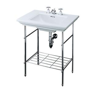Kohler Memoirs Table Legs Only In Polished Chrome K 6880