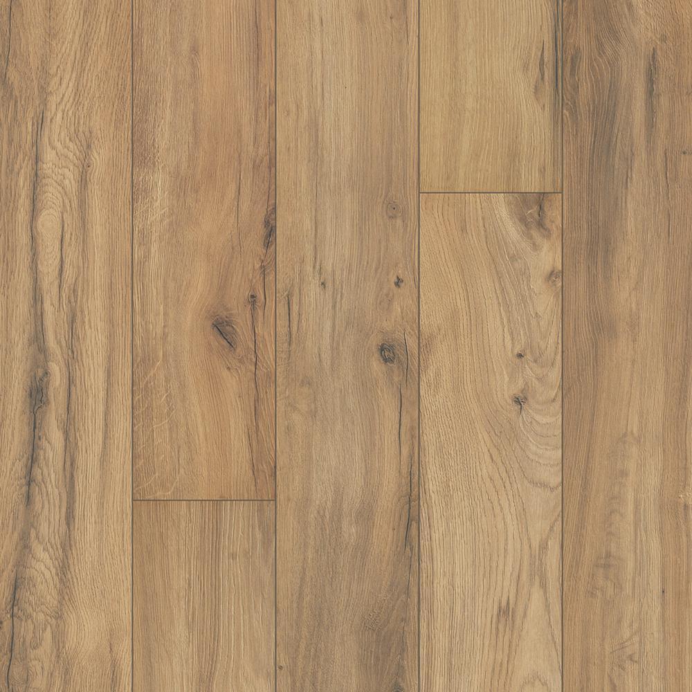 Outlast+ Waterproof Golden Rustic Oak 10 mm T x 6.14 in. W x 47.24 in. L Laminate Flooring (967.2 sq. ft. / pallet)
