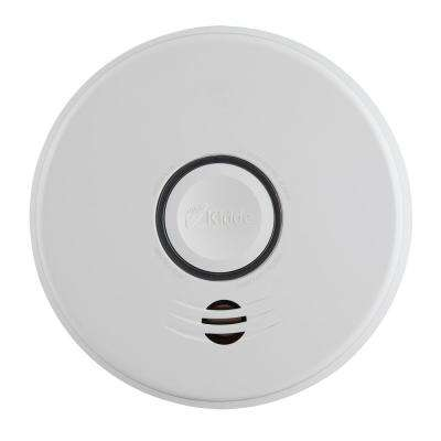 Hardwire Smoke Detector with 10-Year Battery Backup and Voice Alarm
