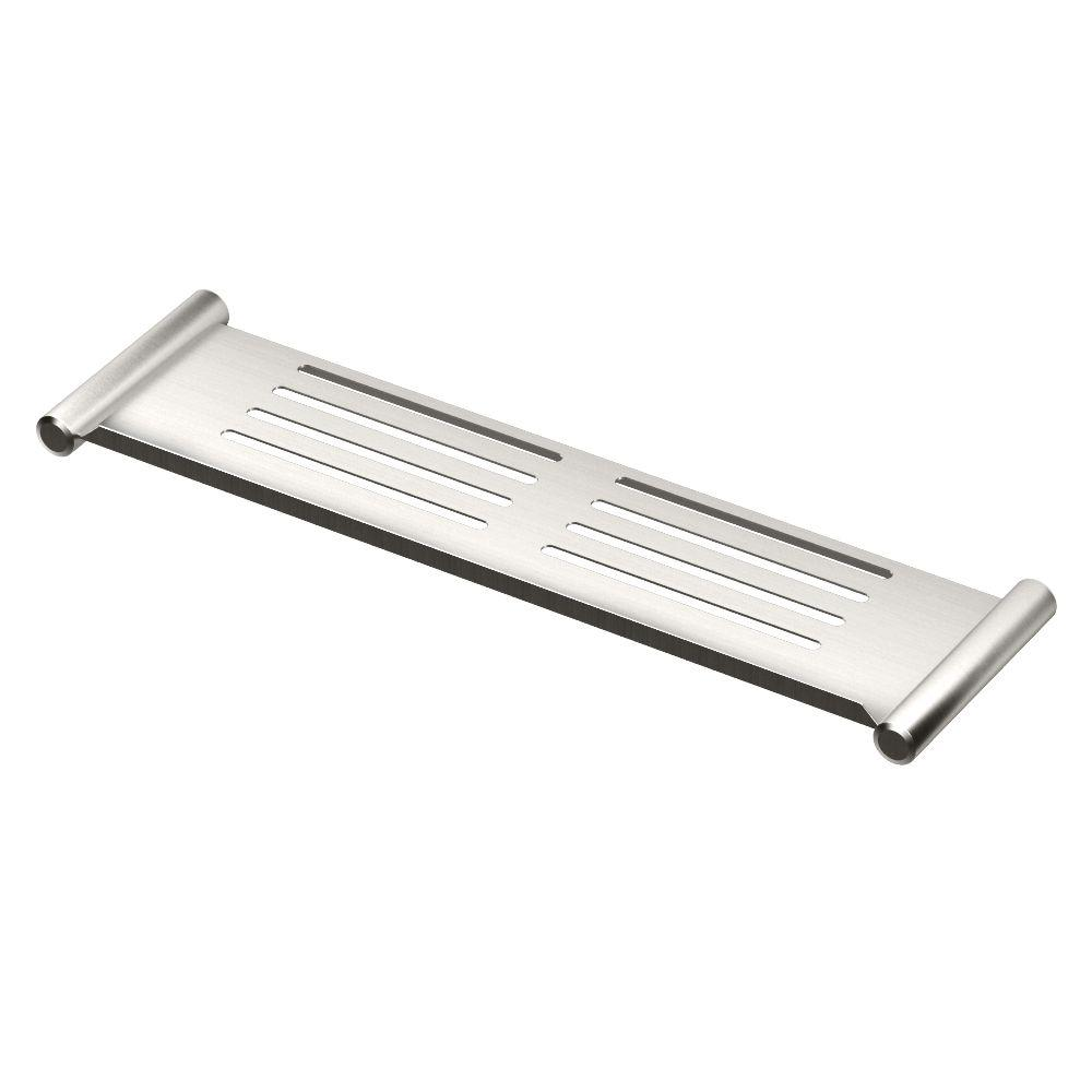 Gatco 19 in. W Elegant Shower Shelf in Brushed Nickel-1461 - The ...