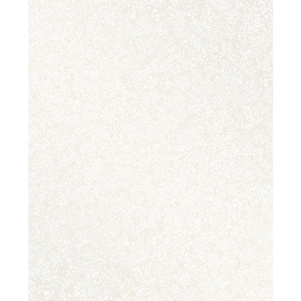Dandi White Floral Wallpaper Sample