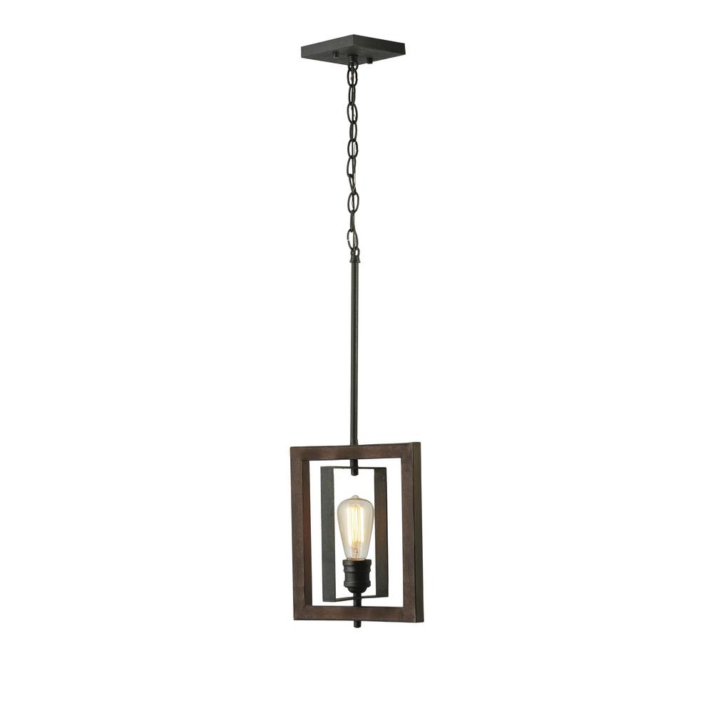 Home Decorators Collection Palermo Grove 10 In 1 Light Gilded Iron Mini Pendant