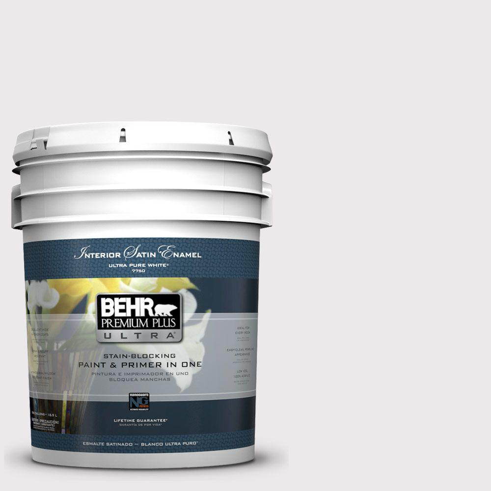 BEHR Premium Plus Ultra 5-gal. #670E-1 Timeless Day Satin Enamel Interior Paint
