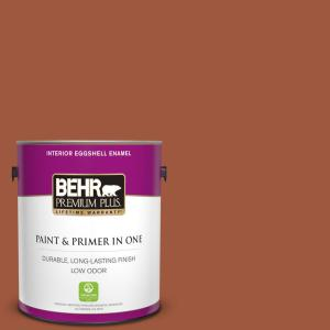 1 gal. Home Decorators Collection #HDC-AC-01 Nouveau Copper Eggshell Enamel Low Odor Interior Paint & Primer