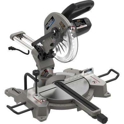 12 in. Sliding Single Bevel Miter Saw With Laser