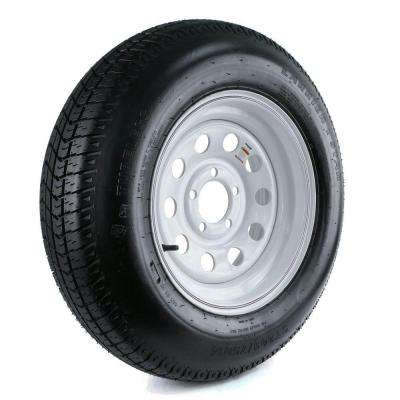 205/75D-14 Load Range C 5-Hole Mod Trailer Tire and Wheel Assembly
