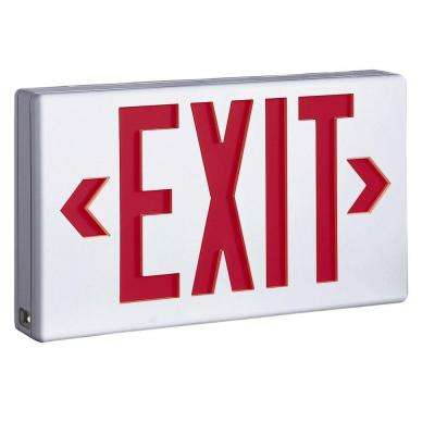 Polycarbonate LED Commercial Emergency Exit Sign