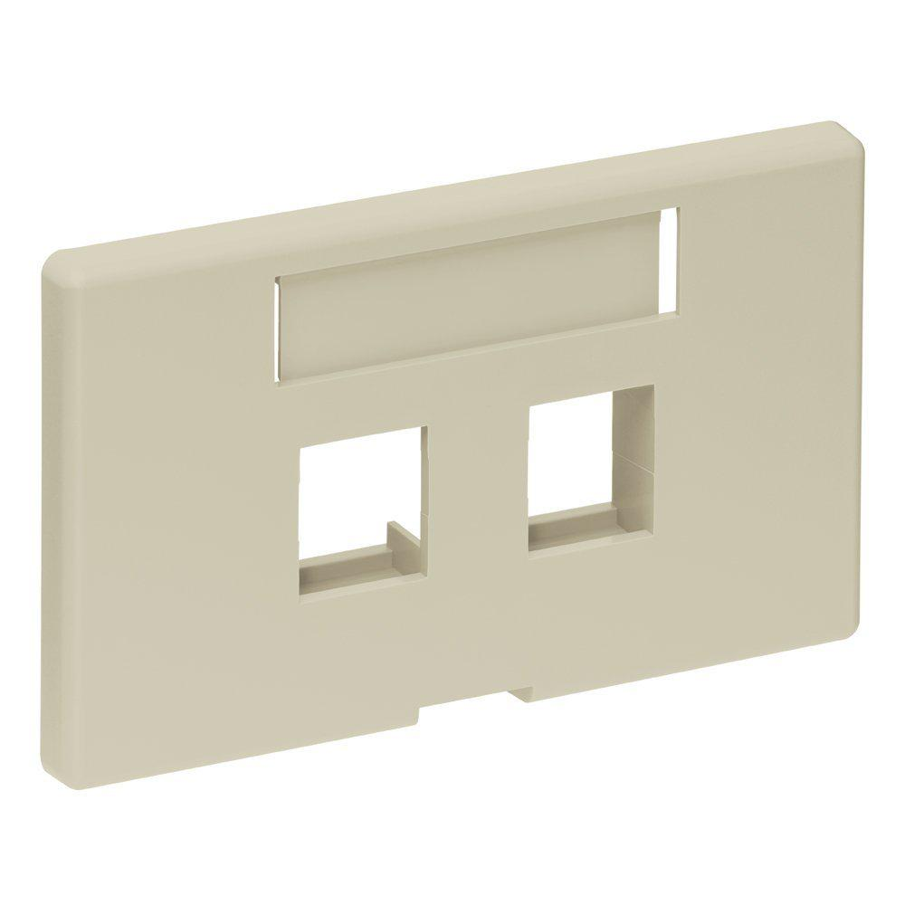 Leviton Quickport 2 Port Modular Furniture Herman Miller Faceplate