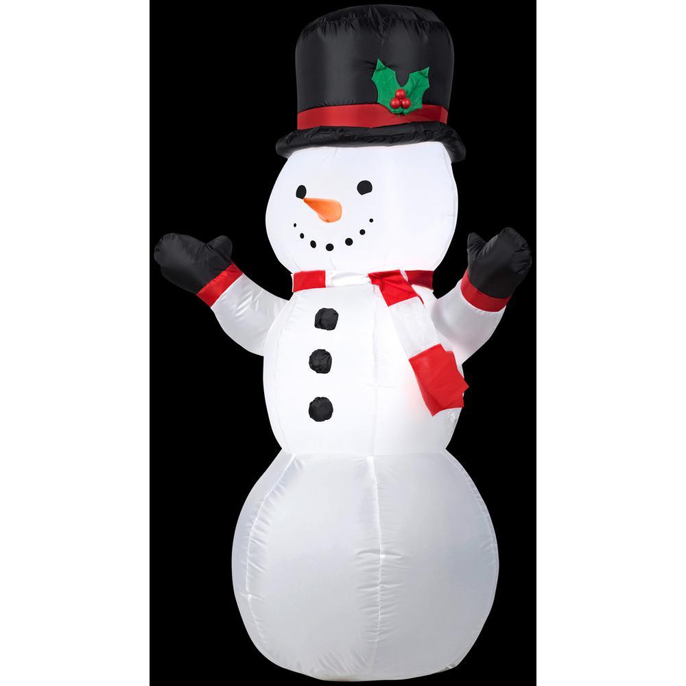 H Outdoor Snowman