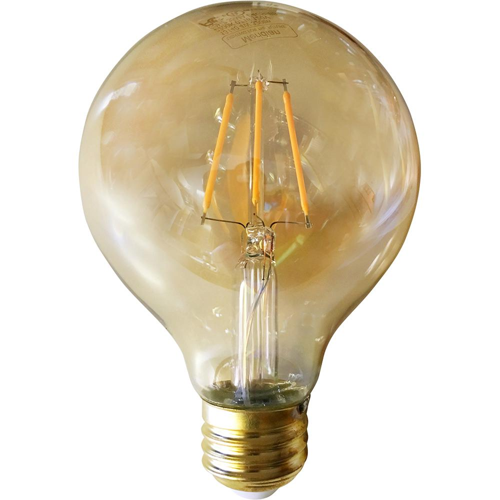 40-Watt Equivalent Warm White G25 Dimmable Vintage LED Light Bulb
