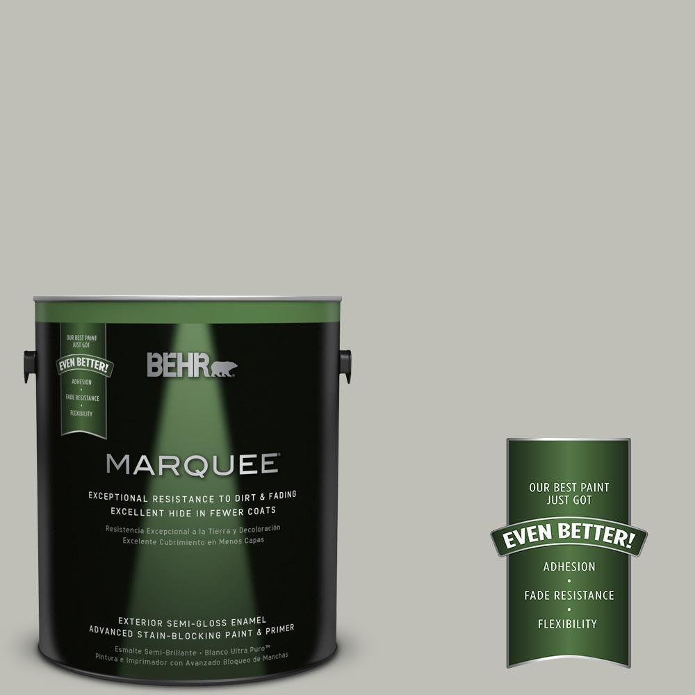 BEHR MARQUEE 1-gal. #N370-3 Light Year Semi-Gloss Enamel Exterior Paint