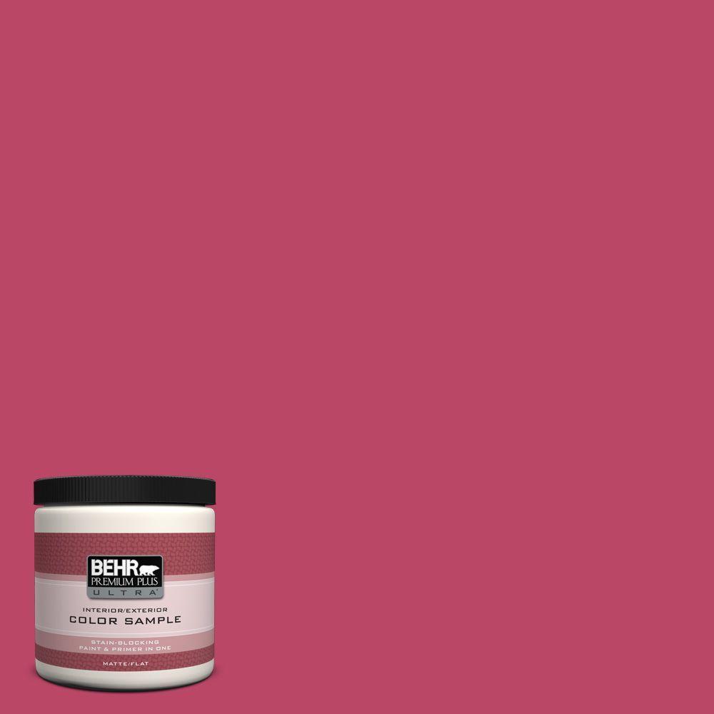 BEHR Premium Plus Ultra 8 oz. #S-G-110 Orchid Rose Interior/Exterior Paint Sample