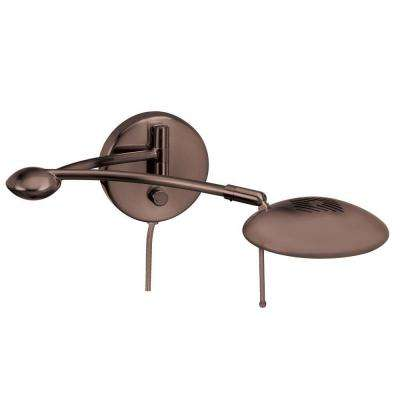 Denny 1-Light Oil Brushed Bronze Wall Lamp