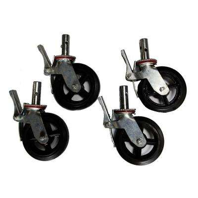 8 in. Scaffold Caster (4-Pack)
