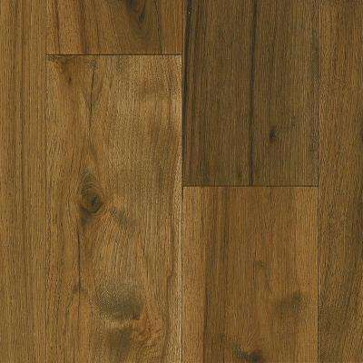 Revolutionary Rustics Hickory Wooden Brown 1 2 In T X 7