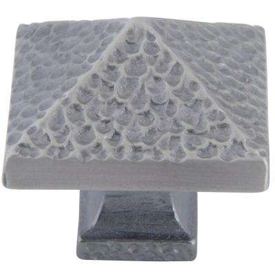 Craftsman Collection 1-1/4 in. Pewter Cabinet Knob