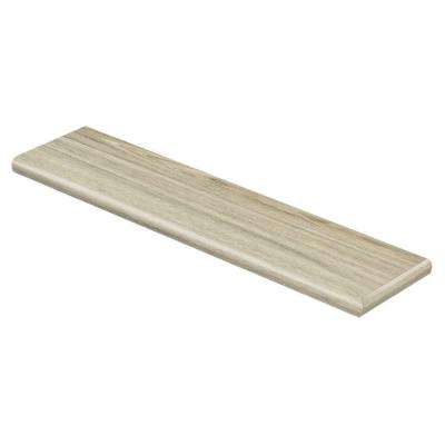 Alpine Elm 47 in. Long x 12-1/8 in. Deep x 1-11/16 in. Height Vinyl Right Return to Cover Stairs 1 in. Thick