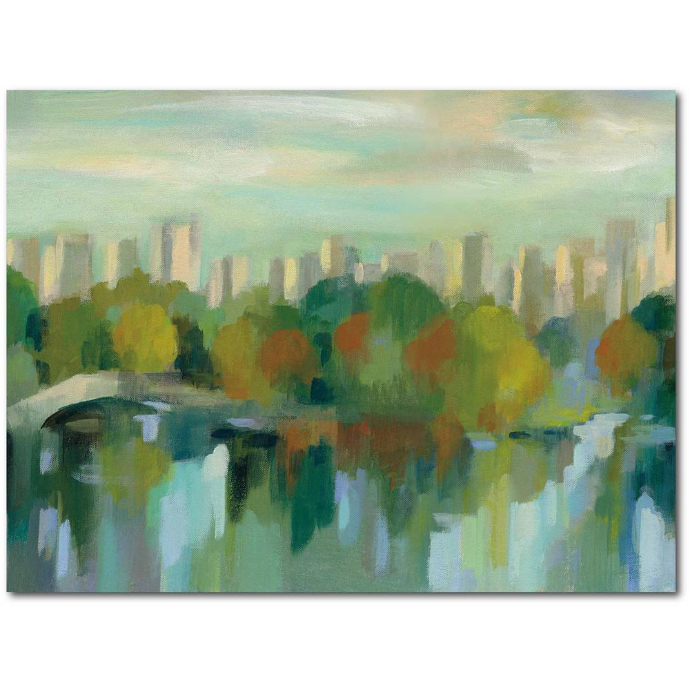 Courtside Market Manhattan Sketches VII Gallery-Wrapped Canvas Nature Wall Art 20 in. x 16 in., Multi Color was $70.0 now $38.93 (44.0% off)