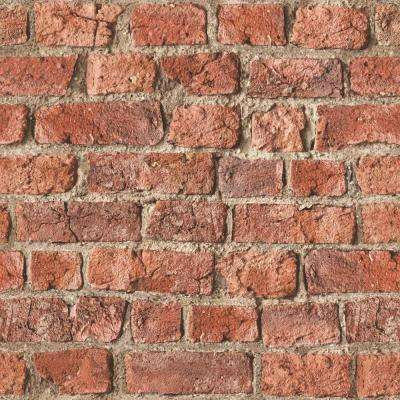 Urban Brick Red Wallpaper