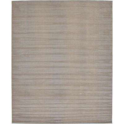 Williamsburg Solid Gray 8' 0 x 10' 0 Area Rug