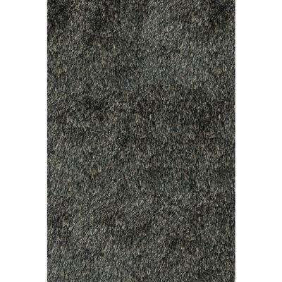 Luster Shag Carbon 8 ft. x 10 ft. Indoor Area Rug