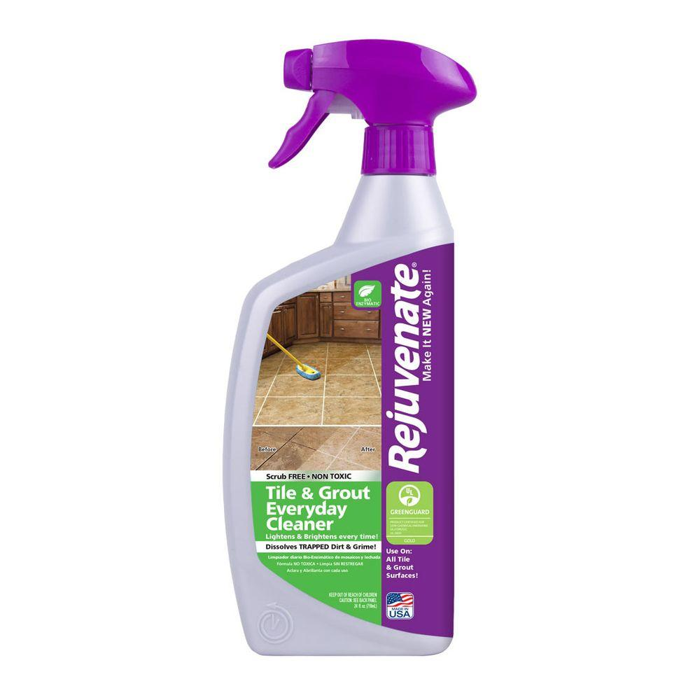 Rejuvenate 24 oz. Bio-Enzymatic Tile and Grout Cleaner-RJ24BC - The ...