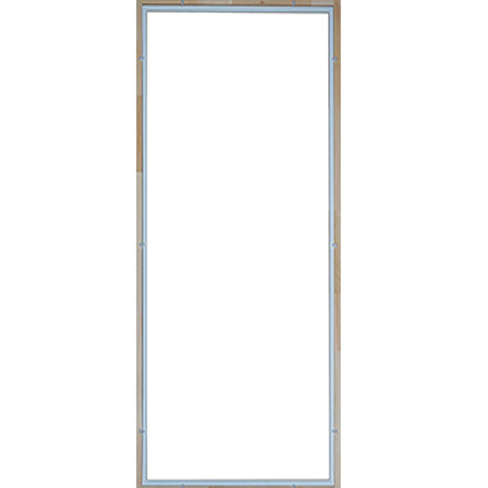 Kimberly Bay 28.625 in. x 53.125 in. x 3 mm Tempered Glas...